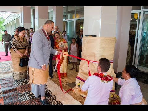 Tanoa International Dateline Hotel Tonga Opening