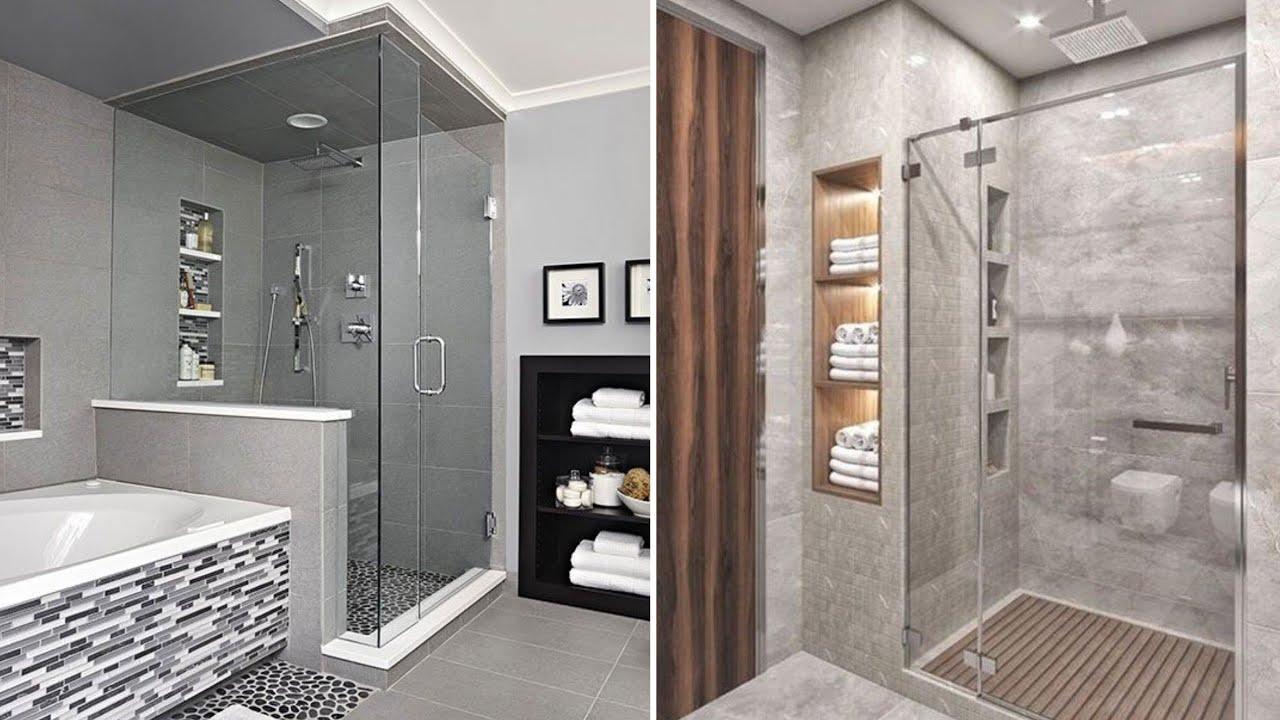 100 Modern shower box design ideas for small bathroom 2020 ...