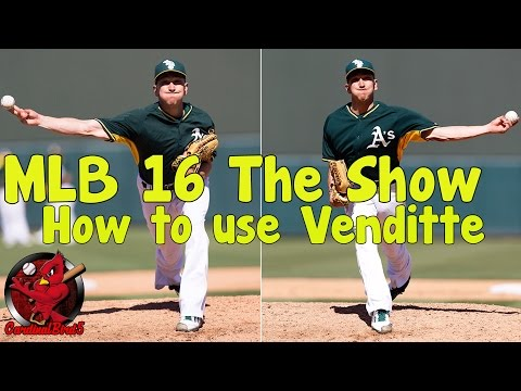 MLB 16 The Show: How to use Pat Venditte