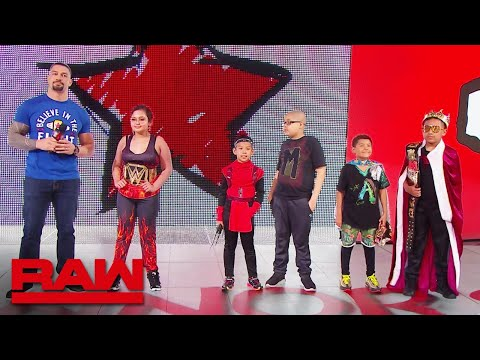 Roman Reigns welcomes Connor's Cure Superstars of Tomorrow: Raw, Sept. 9, 2019