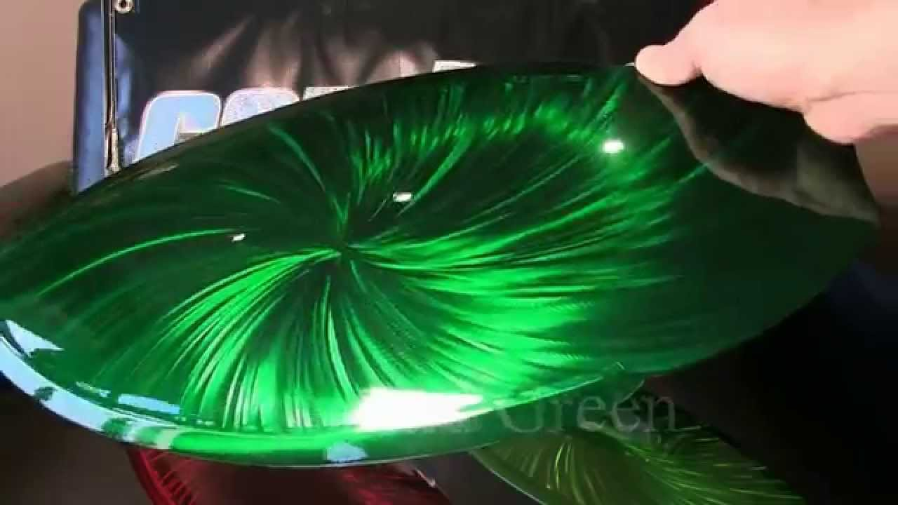 Auto Air Colors Candy Dye Emerald Green Youtube
