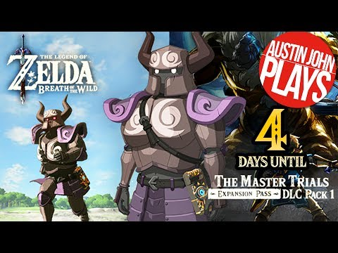 4 Days to DLC Pack 1: The Phantom Armor - Zelda Breath of the Wild Expansion Pass| Austin John Plays