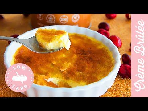 lowcarb-crème-brûlée-selber-machen,-karamell-schicht-ohne-zucker