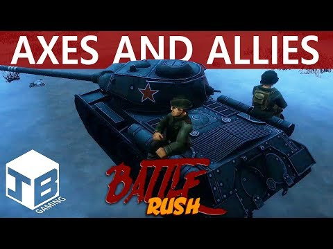 AXES AND ALLIES - Battle Rush (Free To Play 2018 WWII FPS)