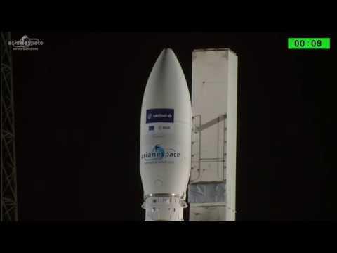 Момент старта РН Vega (Sentinel-2B) [07/03/2017]