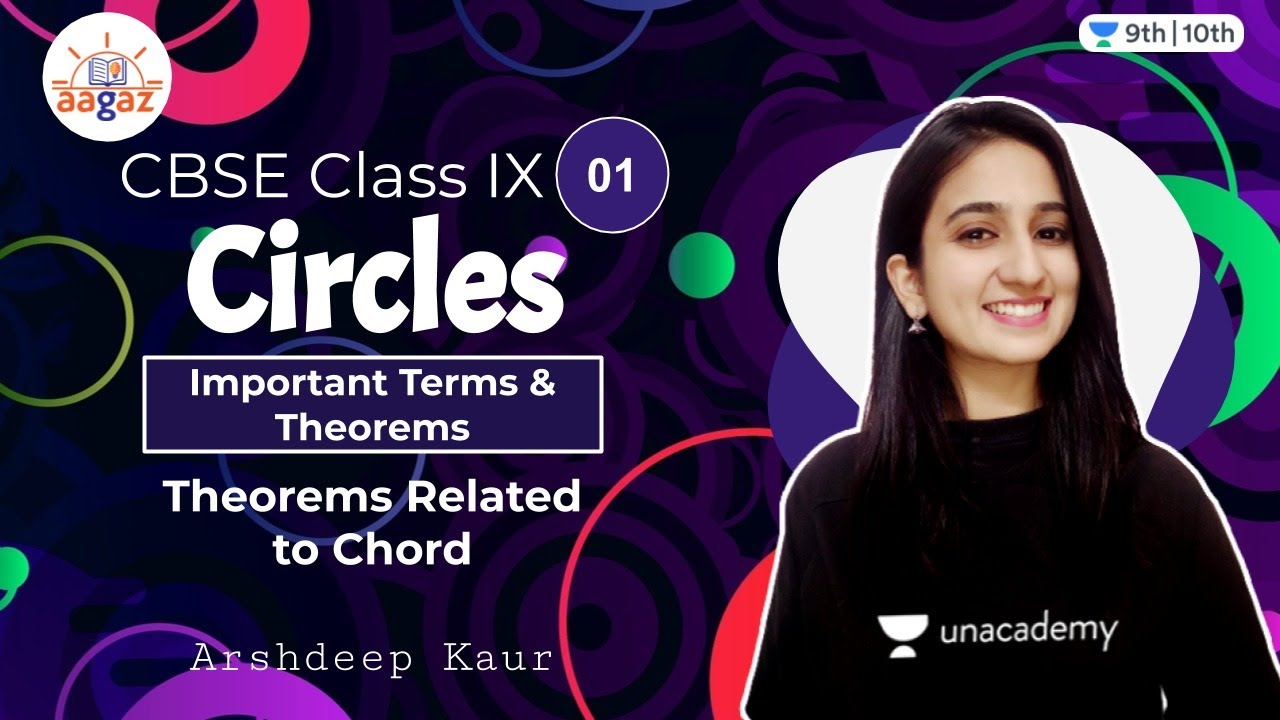 Download CBSE Class 9: Circles L-1   Aagaz   Unacademy Class 9 and 10   Arshdeep Kaur