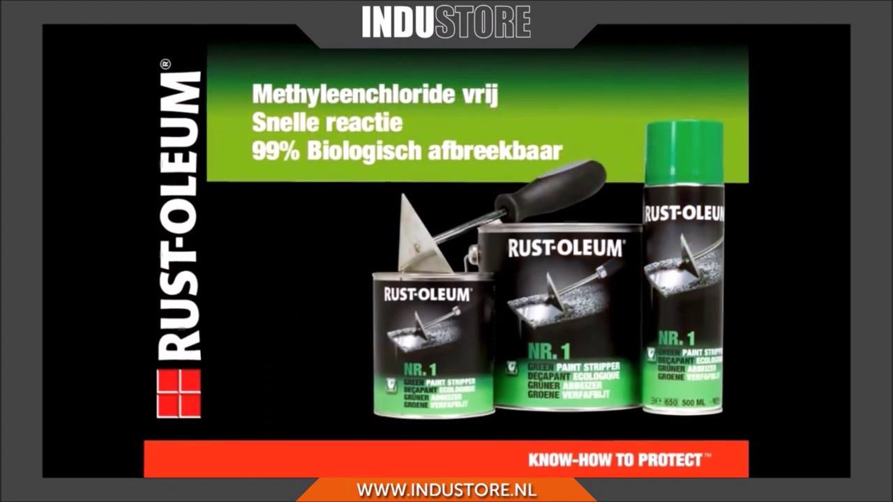 Rust Oleum Verfafbijt.Industore Verfafbijt Rust Oleum Groene Verfafbijt Voor Snel Verwijderen Van Verf En Lijm