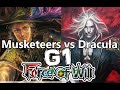 Force of Will - Musketeers Vs Dracula - Game 1