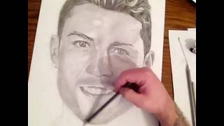 Drawing Cristiano Ronaldo