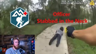 Officer Stabbed in the Neck: How to Pack Your Own Neck Wound