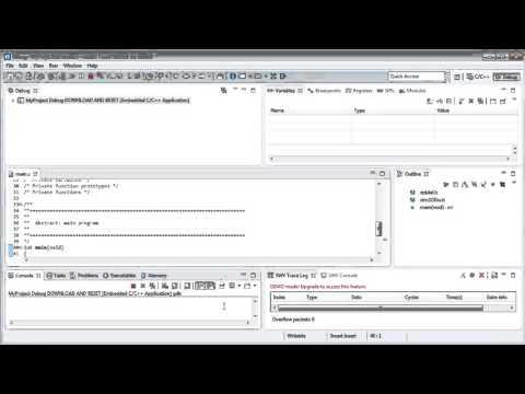 TrueSTUDIO Download and reset (no debug) - YouTube