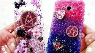 เคสกากเพชร สอนทำเคสเรซิ่น เซเลอร์มูน คริสตัล DIY Glitter Resin Phone Case Crystal Sailormoon