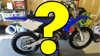 NEW DIRT BIKE!! (YZ 2 STROKE for MOTOCROSS?!)