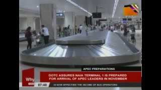 DOTC assures NAIA Terminal 1 is prepared for arrival of APEC leaders in November