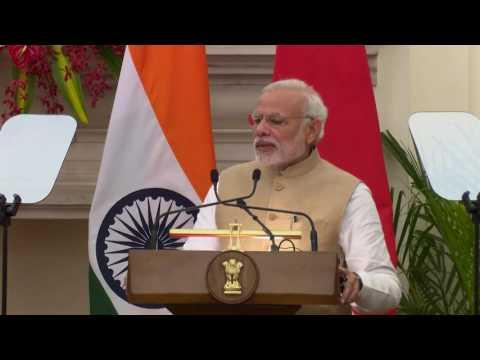Pertemuan dengan Perdana Menteri Republik India, New Delhi, 12 Desember 2016