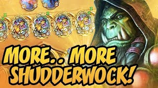 More.. More Shudderwock! | Rastakhan's Rumble | Hearthstone
