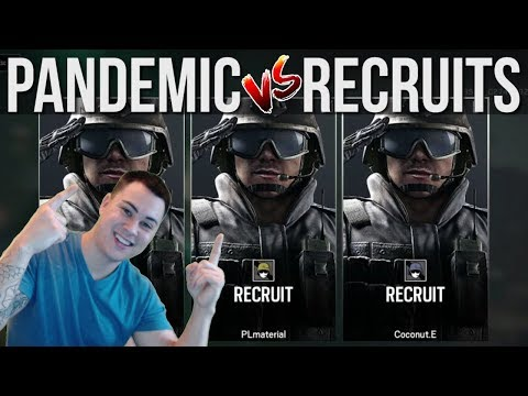 Beating Pandemic With Recruits Only - Rainbow Six Siege Operation Chimera