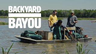 Backyard Bayou - Louisiana Crawfish