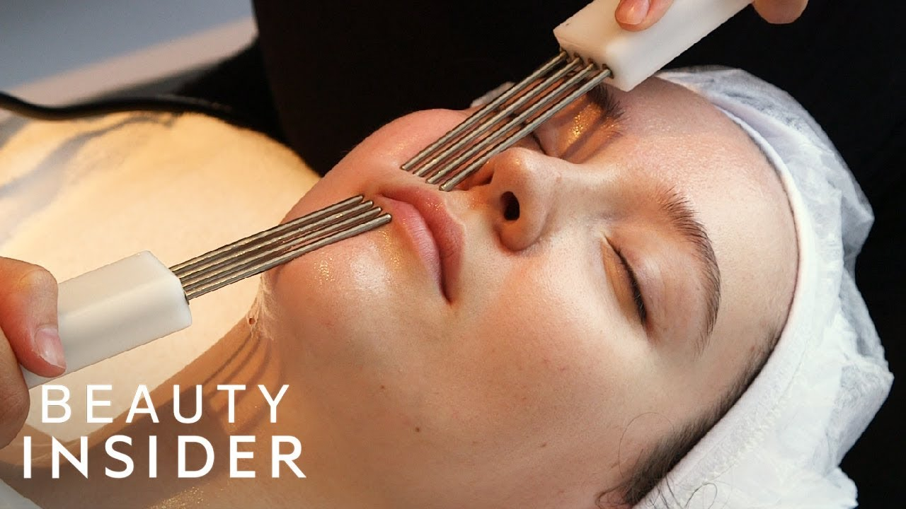 Facial Zaps Your Skin With Electricity