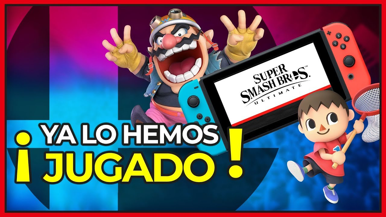 Probamos Super Smash Bros Ultimate Impresiones Nintendo Switch