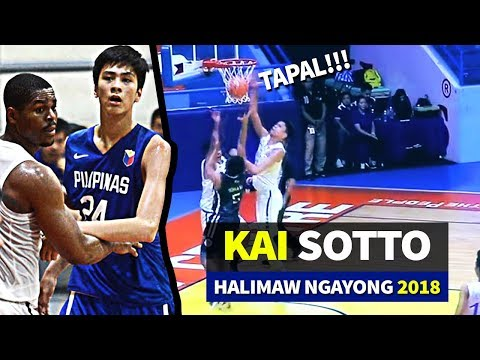 Halimaw Na Si Kai Sotto | 24 Points, 7 Blks | Future Of Gilas | 2018