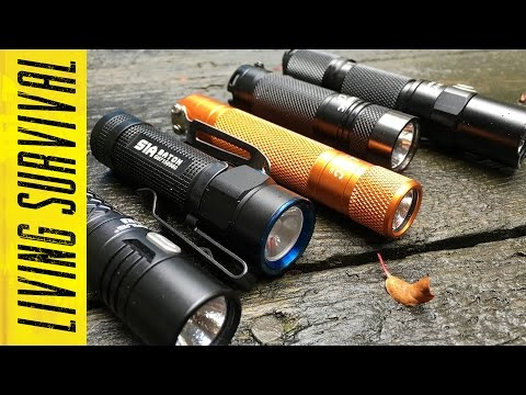 Top 5 EDC Flashlights 2016