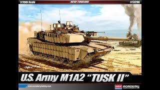 Academy M1A2 tusk 2,  Sneak Peek