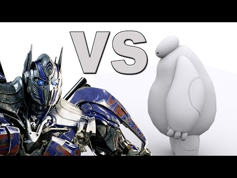 Optimus Prime VS Baymax