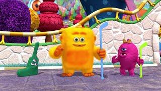 Monsters   Monster Road Hockey   Kids Learn Math for Kids   Educational Cartoons