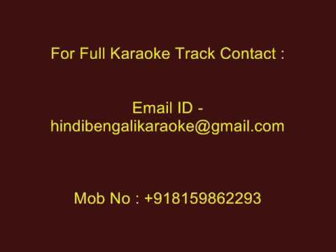 Emon Ekta Jhinuk Khunje Pelam Na - Karaoke - Nirmala Mishra