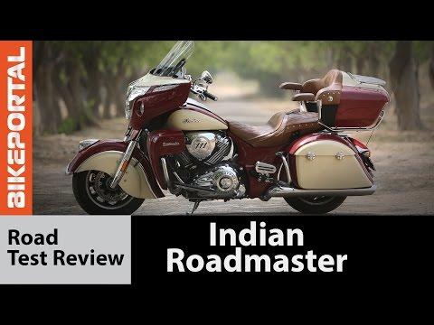 Indian Roadmaster Test Ride Review - Bikeportal