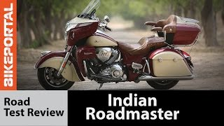 Indian Roadmaster Test Ride Review - Bikeportal