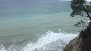 Шум моря слушать звуки прибоя, воспоминания об отпуске.