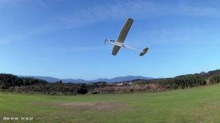 Westwings Kestrel RC version shake down