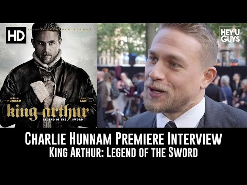 Charlie Hunnam Premiere Interview - King Arthur: Legend of the Sword