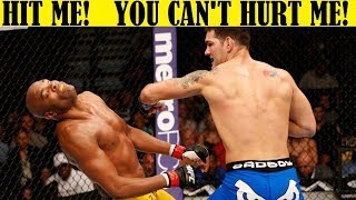 Top 10 Fighters Who Dropped Their Hands & Gave Their Opponent a Free Hit - PART 2