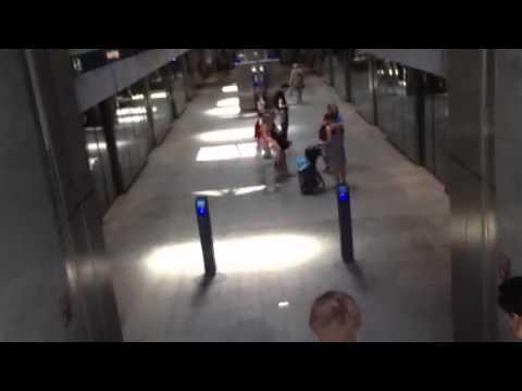 Taking the Subway in Copenhagen