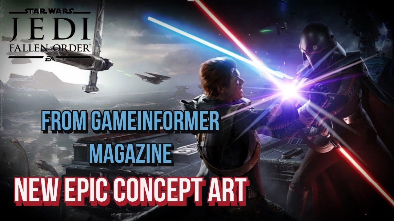 Jedi Fallen Order New Concept Art From Game Informer Magazine
