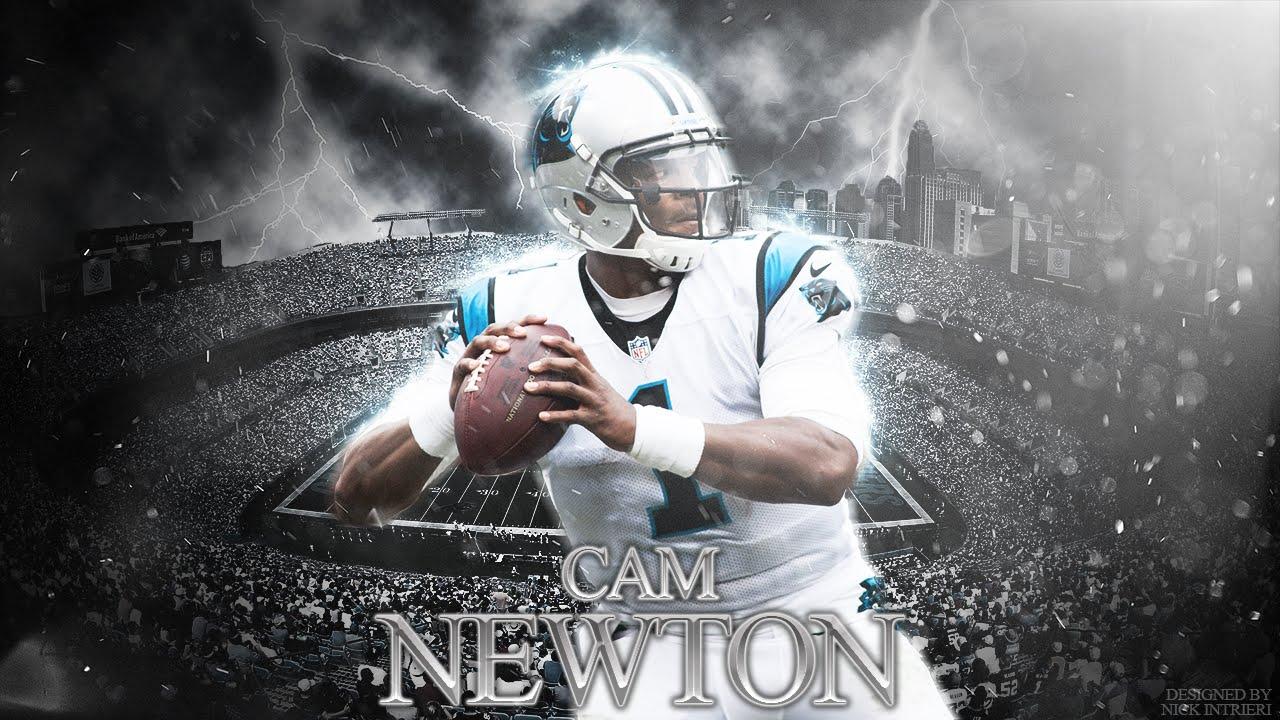 Cam Newton Wallpaper Speed Art - YouTube