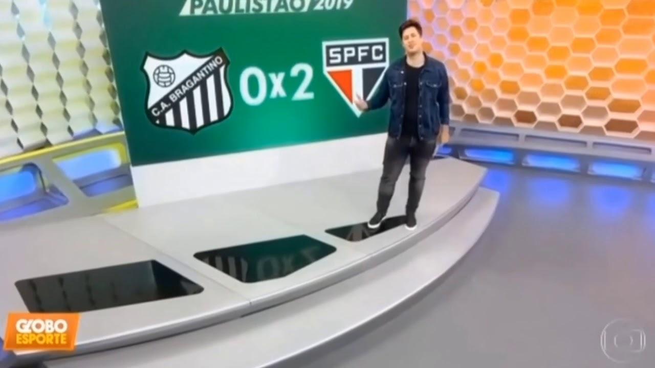 GLOBO ESPORTE SP: MATÉRIA COMPLETA DE SÃO PAULO 2 BRAGANTINO 0