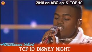 "Michael J. Woodard sings ""Beauty and the Beast""  AMAZING  …"
