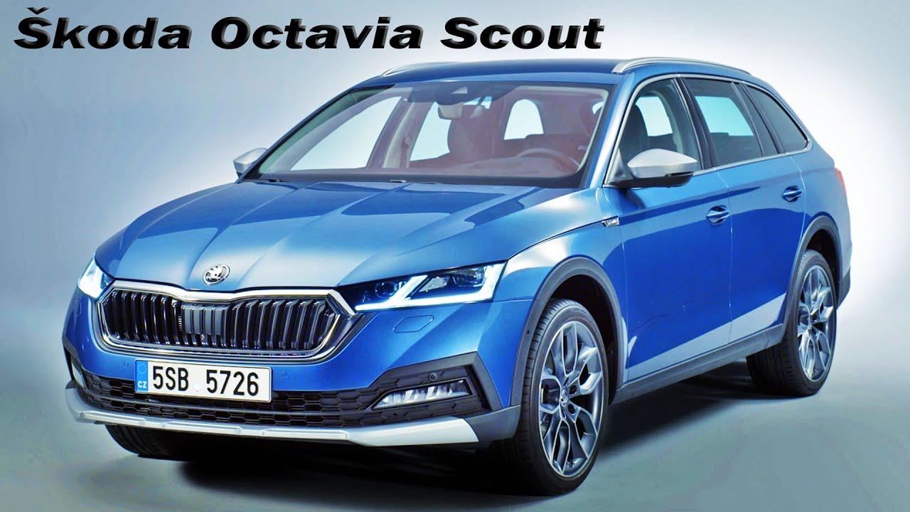 All New Škoda Octavia Scout Interior & Exterior