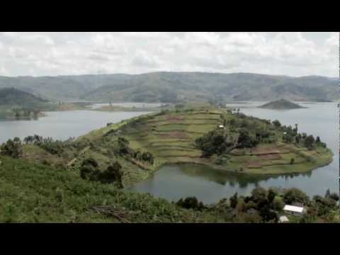 Trekking Up an Island on Lake Bunyonyi, Uganda