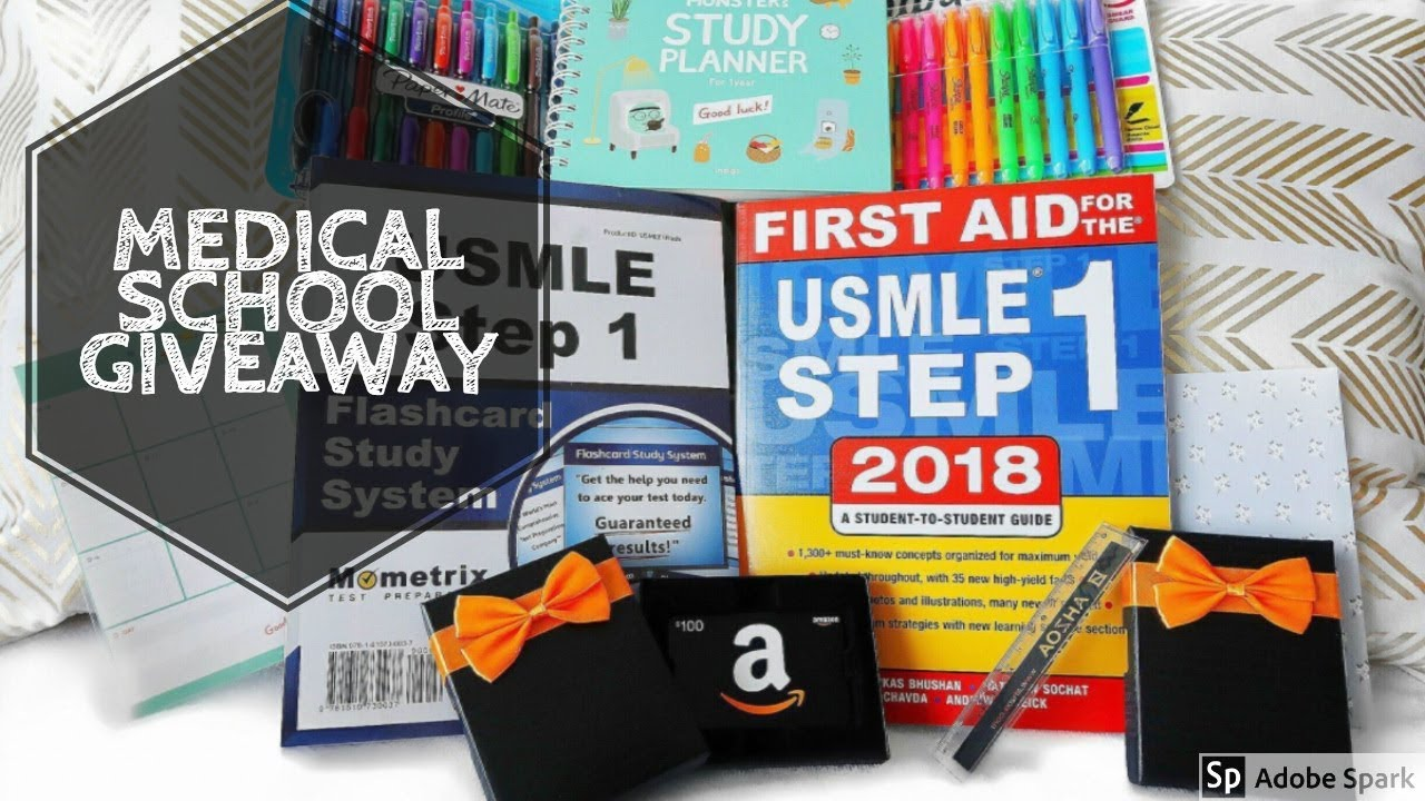 MEDICAL SCHOOL GIVEAWAY | USMLE PREP & AMAZON GIFT CARDS