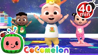 Baby Yoga Song + More Nursery Rhymes & Kids Songs - CoComelon