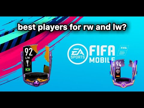 Best RW And LW Position Players | Fifa Mobile