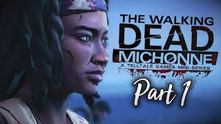 "The Walking Dead: Michonne - E1P1 - ""IN TOO DEEP..."""