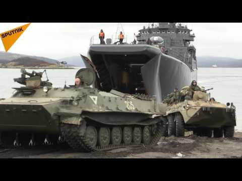 Russia's Northern Fleet Holds Drills in Kola Bay