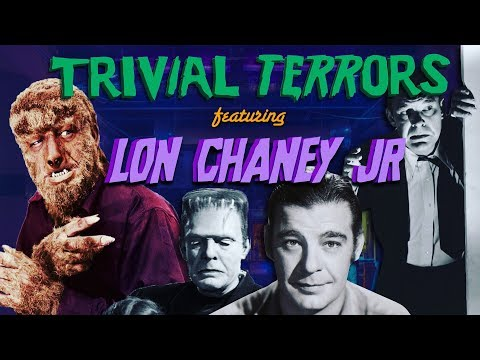 The Necrop-O-Lounge - Trivial Terrors of LON CHANEY JR with JOHNNY NECROPOLIS