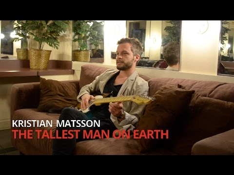 The Tallest Man on Earth Talks About His American Standard Tele   Fender